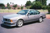 Frank & Kathy Zanger 1989 BMW 635 (Future Classic)