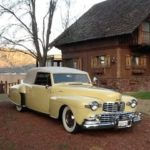 Paul Borgwardt and Connie Ely '47 Lincoln Continental Cabriolet