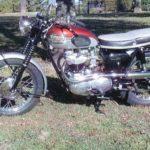 Frank Zanger '62 Triumph 650 Bonneville T120