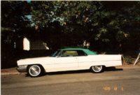 Chuck & Ann Harrison '65 Cadillac Conv