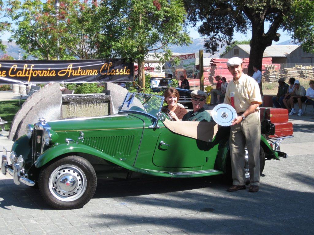 Rod & Susan Schweiger '52 MG TD