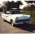 Eric & Carolyn Beeby '56 Ford Sunlinner Conv