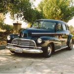 Remo & Judy Buti '46 Chev 4Dr RestoRod