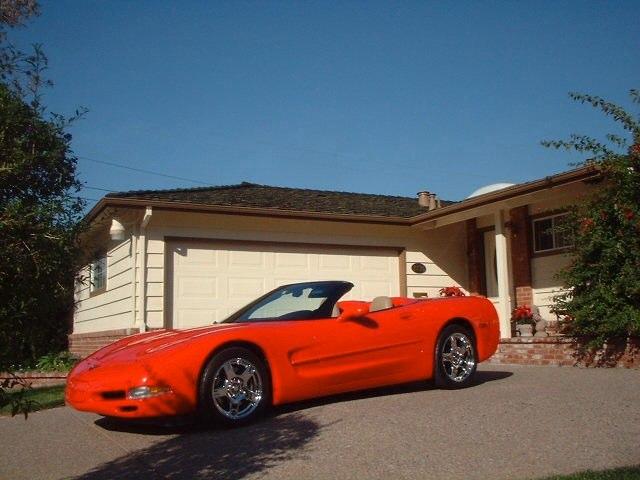 Chuck & Ann Harrison '99 Corvette