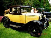 June Ferreira '30 Model A Ford