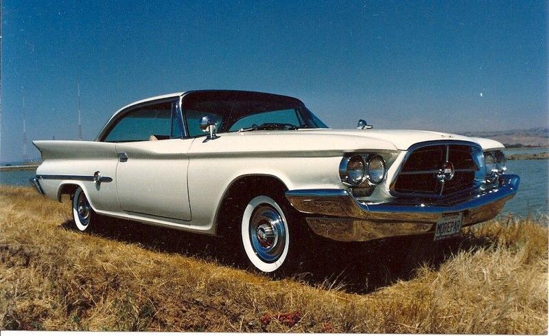 Larry & Sandy Jett '60 Chrysler 300F Coupe
