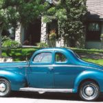 Norm & Sherry Prickett '40 Ford Coupe