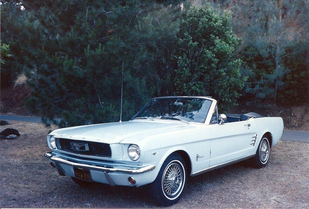 Bob & Carol Coates '66 Mustang Conv