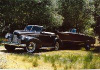 Bob & Carol Coates '40 Buick with '57 Century Resorter 16