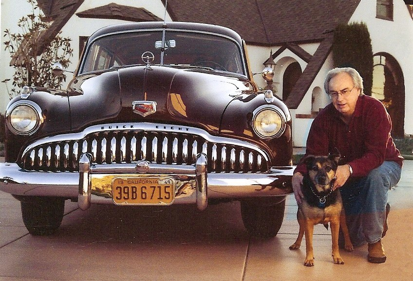 Patrick & Dixie with '49 Buick