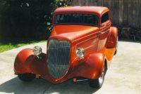 Rod & Susan Schweiger '34 Ford 3 wdo Coupe